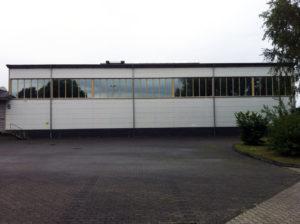 Blendschutz Halle - Außenansicht