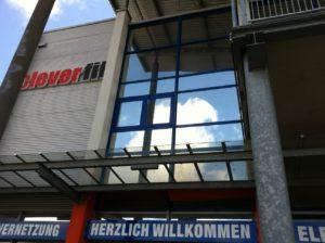 Hitzeschutz - Fitnessstudio Front