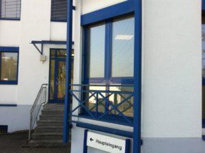 Sichtschutz - Büro