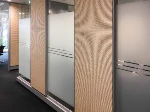 Sichtschutz Innenbüro